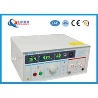 IEC Standard Hipot Test Equipment Automatically Control For Withstanding Voltage Test thumbnail image