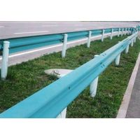 two wave  highway guardrail of good quality