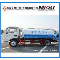 Dongfeng 4X2 5CBM water tanker transport truck DFA1070SJ35D6 for sale thumbnail image