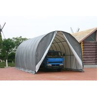 Arch Top RV Shelter,Portable Carport,Vehicle Garage 14x30 Feet