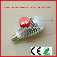 China factory price led bulb 7w e27 high quality
