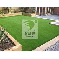 home decoration fake grass turf in garden thumbnail image