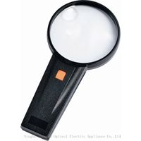 Illuminated Handheld Reading Magnifier with Light (ZM1090)