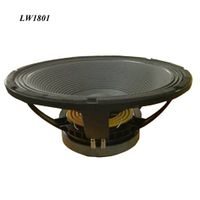 Lw1801-Professional Audio Speaker Repair 18 Inch Best Subwoofer, 600W Componente De Parlante Bajo