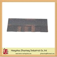 laminated fiberglass asphalt shingle--brown color