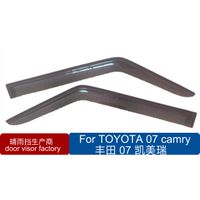 Mazda door visor wind shide double color