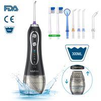 2021 electric oral smart water flosser professional dental 2 in 1 toothbrush oral irrigator