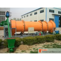 Fertilizer rotary drum granulator