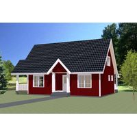 One storey Family House Prefab House Prefabricated house