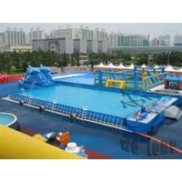 22013 best selling gaint inflatable water slides swimming pools