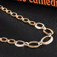 Fashion Simple Design Gold Women Necklace