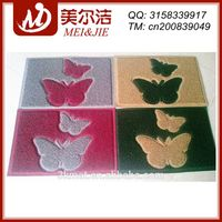 Beautiful butterfly pattern PVC Door Mat