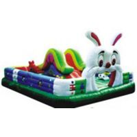 Inflatable Rabbit Bouncer for Kids/Inflatable Combo Bouncer House