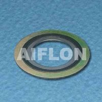 Monel Spiral wound gasket with inner and outer ring thumbnail image
