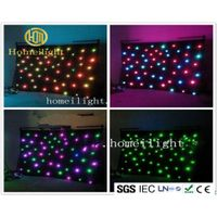 Stage Light Manufacturer RGB Star Curtain Led Lights Strobe Effect