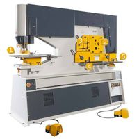 Piranha Ironworker / Hydraulic Combined Punching&Shearing Machine (XP-3) thumbnail image
