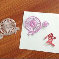 China factory card crafting supplies with metal dies