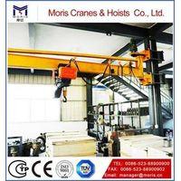 Wall line cantilever crane