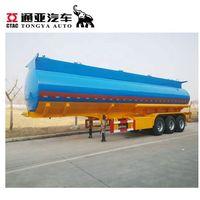 Heavy Duty 3 Axles 40000 42000 45000 50000 Liters Petrol Diesel Oil Fuel Tanker Semi Trailer
