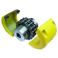 industrial steel roller chain coupling