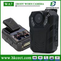 WA7 Pocket Camera 1080P Full HD Mini DV 11 Hours Recording Dash Camera with 8IR Night-Vision Body Wo