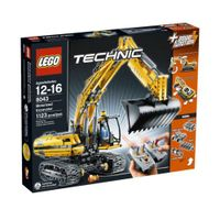Original Lego #8043 TECHNIC MOTORIZED EXCAVATOR