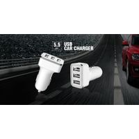 Triple USB Car Charger BW-C063