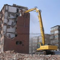 High reach demolition front