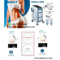 GOMECY 2021 new high intensity emsculpting hiemt muscle stimulator 4 handles body shaping fat reduct