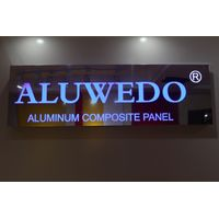 Anodized Mirror Aluminum Composite Panel, Interior Sign Board Decoration Materials