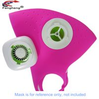 Factory dc 3v mini electric usb rechargeable ventilator ventilateur blower for N95 mask fan thumbnail image