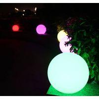 Led light Ball with Rotational PE plastic