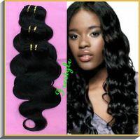 Cheap price brazilian virgin body wave human hair weaves