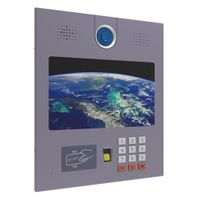 Visible access control with 13 inch screen ODM OEM service from Chinese product development company