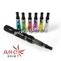 EX-factory Price X6 E Cigar Bamboo Mod with T2 Clearomizer