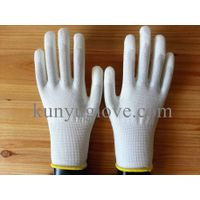 SAFETY 13G Knitted PU Palm Cut Resistant Gloves/working gloves importers in USA thumbnail image