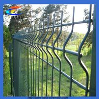 Bending nets, triangular bending fence pvc coated triangle bending fence