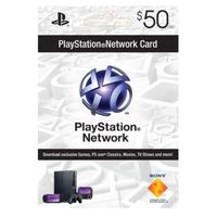 wholesale PlayStation Network Card 50 dollars