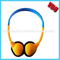 Colorful Stereo Headphone for Airline/ Bus/ Train
