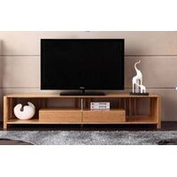 Simple practical bamboo TV cabinet