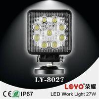 Offroad led work light, Auto led working lights, 27w led work light for trucks