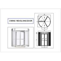 3-WING REVOLVING DOOR