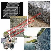 reinforced stone cage gabion