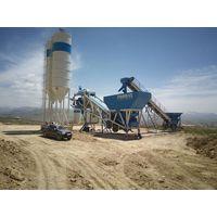 PROMAX Mobile Concrete Batching Plant M100-SNG (100m³/h)
