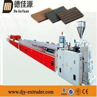 Plastic PVC WPC profile/plate extrusion line