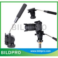 Factory Cheap Price 3 Way Fluid Head For Camera Tripod Video Stand ABS thumbnail image