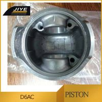 doosan D6AC piston , part no. 23411-83410 ,made in china.