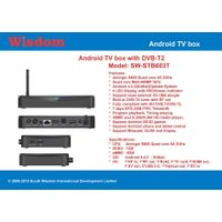 Android DVB-T2 TV box