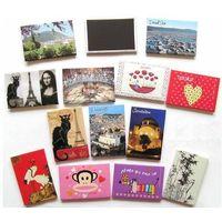 Hot promotion photo/picture frame for decoration fridge magnet