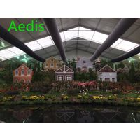 China HVAC fabric/textile duct application in green house thumbnail image